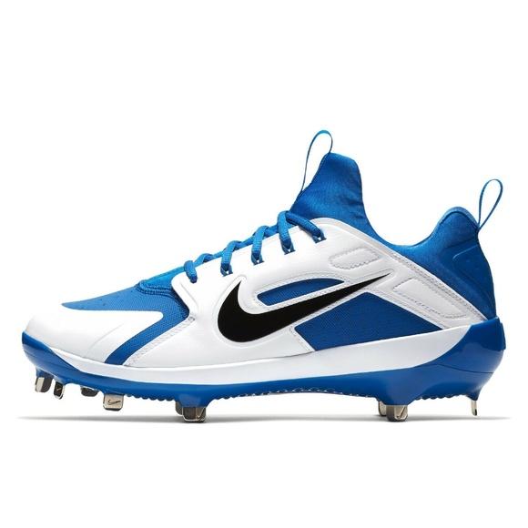 Nike Men's Alpha Huarache Elite 2 Mid Baseball Cleats in